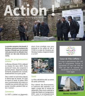 Newsletter - Action Coeur de Ville - septembre 2019