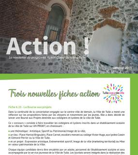 Newsletter - Action Coeur de Ville - octobre 2019